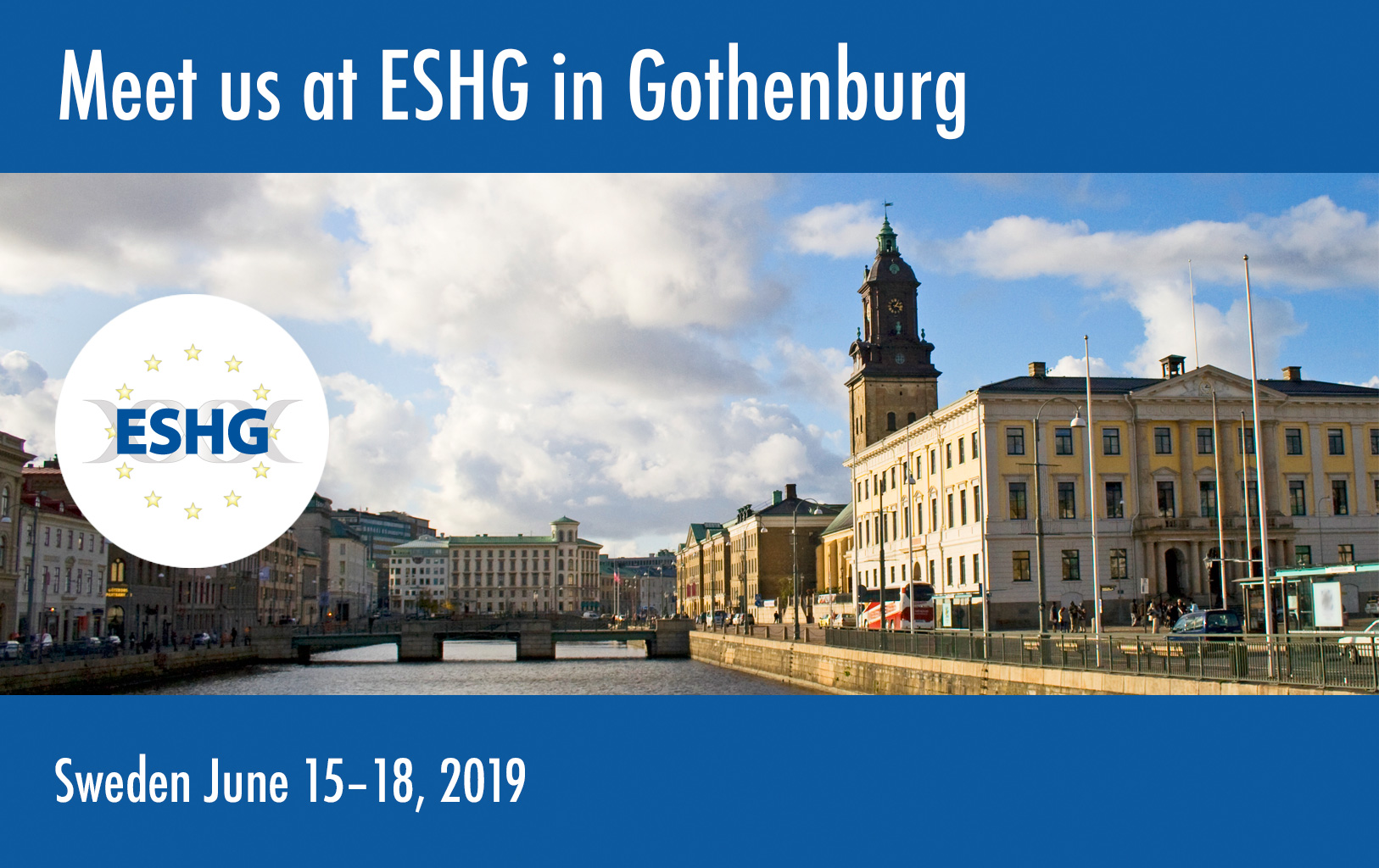 ESHG in Gothenburg